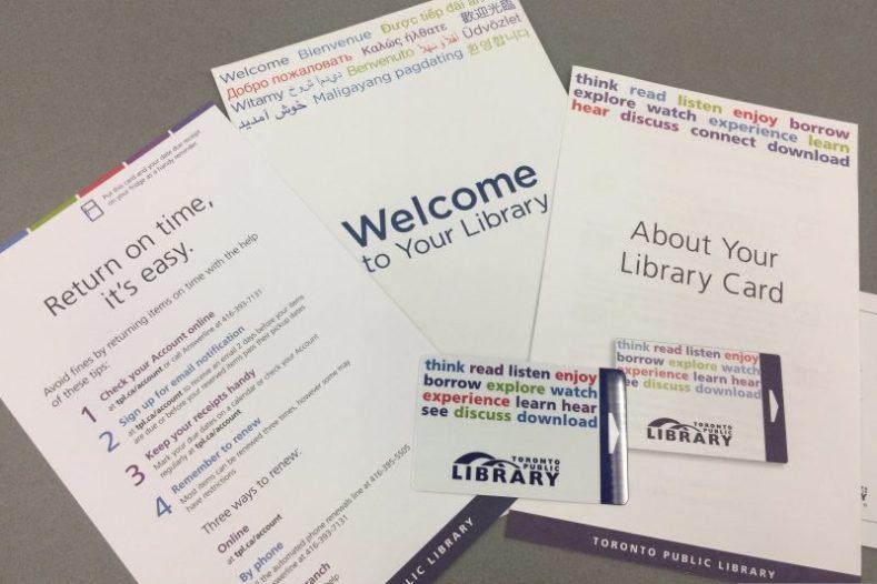 Biblioteca Pública de Toronto para estudar