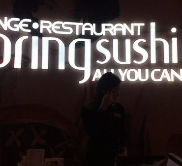 Tem sushi bom no Canadá?