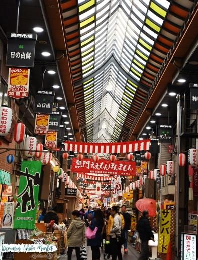 O que fazer em Osaka? Visitar as ruas cobertas!