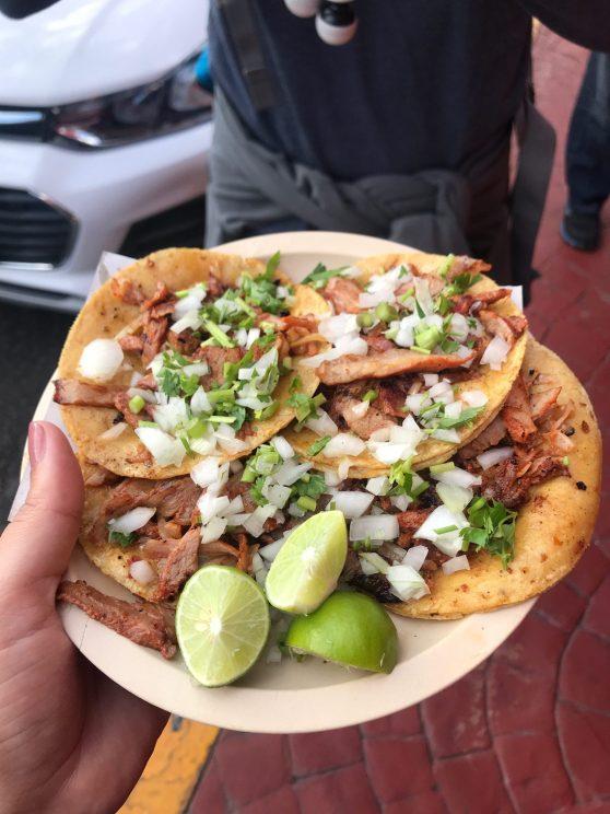 Conexão no México: Melhor taco do mundo!!
