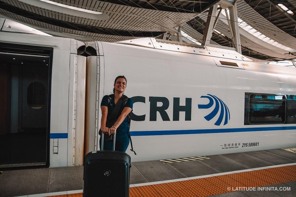 O que fazer em Beijing: Pegando o trem