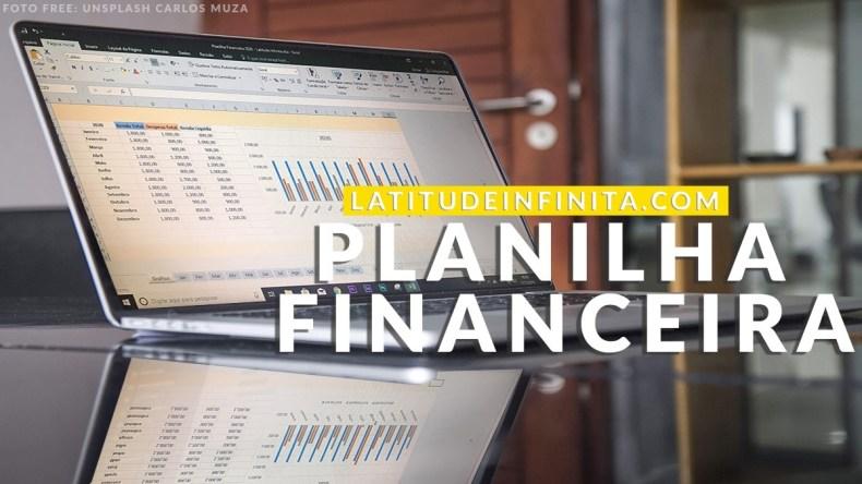Capa da Planilha Financeira