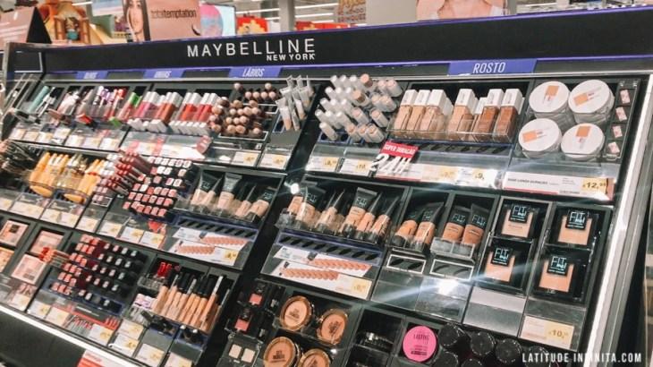 Preços de Maquiagens no Mercado em Portugal