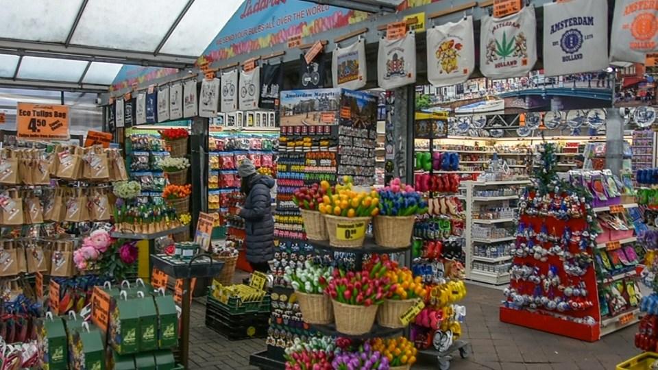 mercado de flores em amstedam