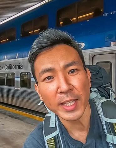 Viagem de trem: Los Angeles a San Diego