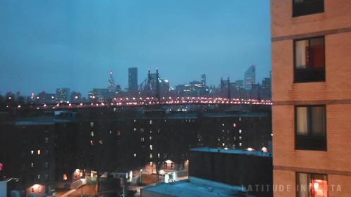 7 dias em nova york - vista do quarto