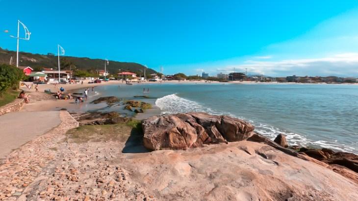 praia da pinheira - praia de baixo