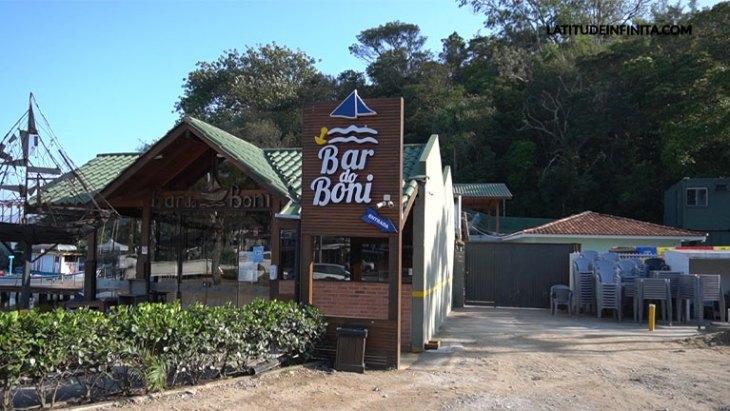 Bar do Boni onde começa a trilha do Gravatá