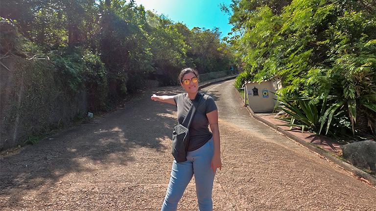 início trilha do gravatá florianópolis