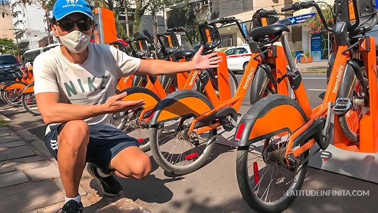 bicicletas parque moinho de vento