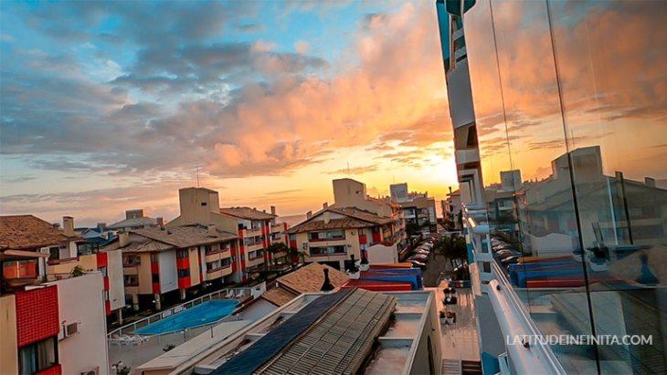 vista para o mar airbnb Florianópolis
