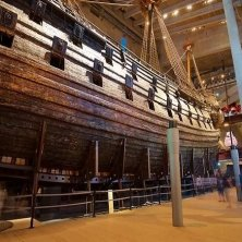 fiancata del vascello nel museo