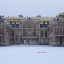 Versailles con la neve