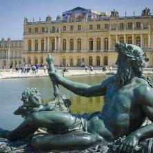 Versailles dal giardino