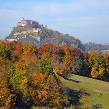 Riegersburg castello autunno