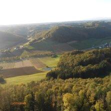 panorama dal castello Riegersburg