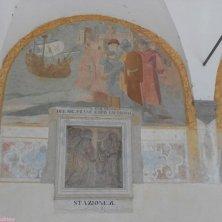 affreschi convento