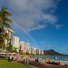 Arcobaleno a Honolulu