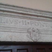iscrizione Giulio II