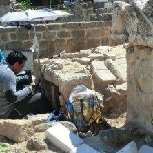 Giovani Archeologi al lavoro Area Archelogica