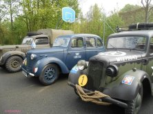 auto militari al parco