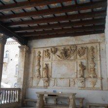 loggia della giustizia a Trogir