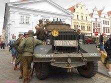 milatari in piazza a Pilsen