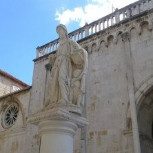 piazza della cattedrale Trogir