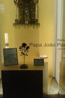 reliquia Giovanni Paolo II