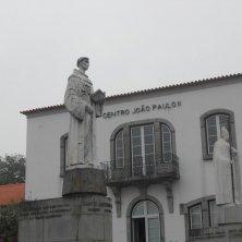 statue Sant'Antonio e Giovanni Paolo II