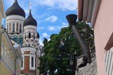 cattedrale ortodossa dalla via gamba lunga