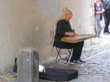 musicista di kokle