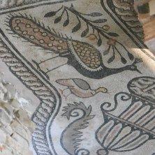 mosaico pavone