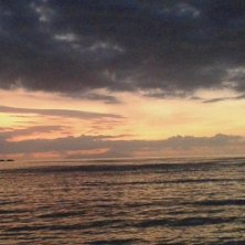 tramonto spiaggia nord