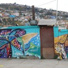 panorama e graffito