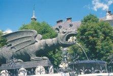 fontana del drago Klagenfurt
