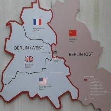 cartina Muro Berlino