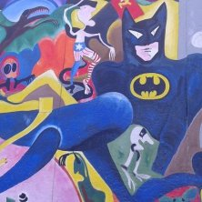 colori all'East Side Gallery