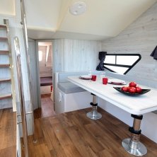 Houseboat Minuetto_ interno ©Houseboat