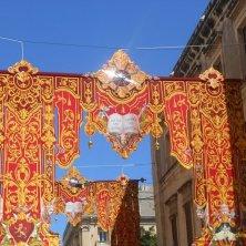 stendardi in festa La Valletta