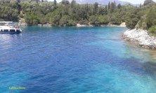 l'acqua blu di Skorpios