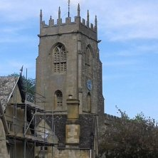 torre della chiesa di Winchombe