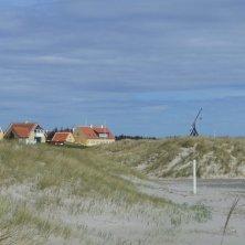 a Skagen sulla spiaggia