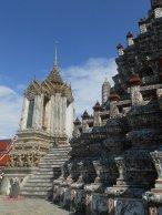 al tempio Wat Arun