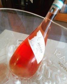 bottiglia rosè