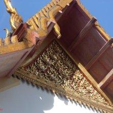 dettaglio tetto del tempio