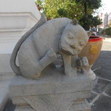 statua al tempio