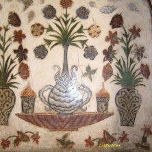 particolare decorazione al Baby Taj