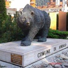 orso, simbolo di Andalo
