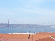 ponte 25 Abril visto dall'arco